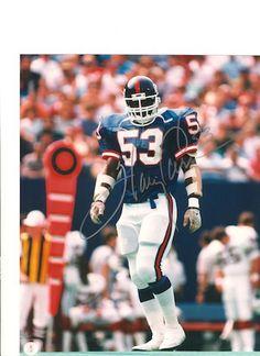 Autographed Harry Carson New York Giants 8x10 Photo
