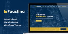 Faustina - Industrial #WordPress #Theme - Business #Corporate Download here: https://themeforest.net/item/faustina-industrial-wordpress-theme/20302202?ref=alena994