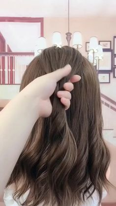 hairstyles for long hair videos Hairstyles Tutorials Compilation 2019 Part 222 Beauty Hairstyles For School, Pretty Hairstyles, Braided Hairstyles, Wedding Hairstyles, Medium Hair Styles, Curly Hair Styles, Hair Upstyles, Long Hair Video, Hair Videos