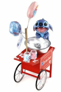 Disney Lilo & Stitch - Stitch Collection: Stitch - Cotton Candy [33112] by Dragon. $30.99. Disney's Stitch is well adored for its resemblence of a mutant koala, short tempered and mischievous behavior who is adopted as a puppy dog by his dear friend Lola.  Dragon's latest Disney licensed product of Stitch is designed by mimo's creative team which work closely with Disney measuring up to their sizes, appearances and standards.  The stitch figure comes with an old fashioned cotto...