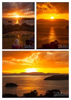 Sunset at One Tree Hill Hamilton Island Whitsundays | via ledelicieux.com