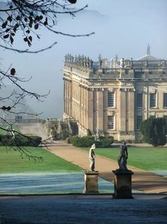 Chatsworth House - Derbyshire, England