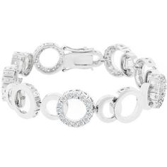 Circle Bijoux 8 Inch Bracelet