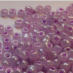 Is this what you're looking for?: 50g Lilac Purple ... Now in stock! http://icklebits.myshopify.com/products/50g-lilac-purple-seed-beads-size-4mm-6-0?utm_campaign=social_autopilot&utm_source=pin&utm_medium=pin #icklebits #beads #charms