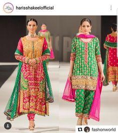 Pakistani Formal Dresses, Shadi Dresses, Pakistani Party Wear, Pakistani Wedding Outfits, Pakistani Dress Design, Indian Dresses, Indian Outfits, Pakistani Clothing, Salwar Dress