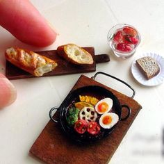 Miniature vegetable curry
