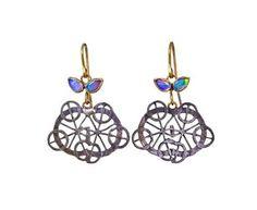 Judy Geib | Opal Kaleidoscope Earirngs in New Earrings at TWISTonline
