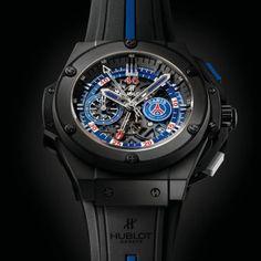 60b98d4fef  Reloj exclusivo  Hublot dedicado al Paris Saint-Germain  futbol