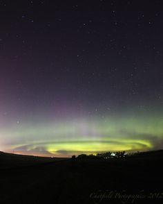 20 de mayo, en Saskatoon, Saskatchewan, Canadá. Probablemente como resultado de la pasada erupción solar clase-M5