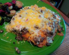 Nacho Doritos Casserole with beef This is a family Fav! Kids love it as well as adults very fun recipe. Great for any day and awesome for Superbowl parties, or husbands game day!! I have fed this to people who hate cream of mushroom and they loved it no questions asked.