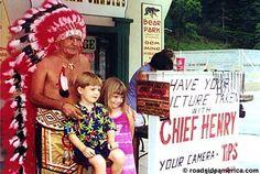 Indian Chiefs of Cherokee, Cherokee, North Carolina