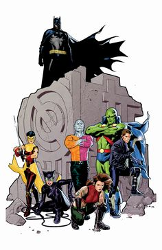 Batman and The Outsiders by Ryan Sook