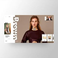 Web Portfolio, Portfolio Website Design, Website Design Layout, Web Layout, Layout Design, Banner Design Inspiration, Web Banner Design, Web Design Inspiration, Fashion Website Design