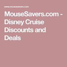 Cruise+Discounts