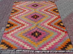 "Anatolia Turkish Classic Antalya Kilim 62 9"" x 103 9"" Area Rug Carpet | eBay"