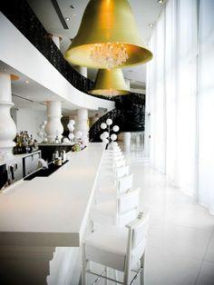 The Mondrian South Beach, designed by interior designer Marcel Wanders.