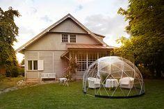ドーム型テント、ガーデンネストで、どこでも居心地抜群のプライベート空間に!|NEWS | madame FIGARO.jp(フィガロジャポン)