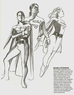 Supergirl Comic Box Commentary: Alex Ross Supergirl In Kingdom ...