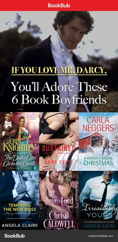 Meet the book boyfriends that resemble Mr. Darcy.. although he's nearly impossible to replicate.