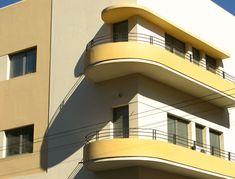 White city Tel aviv is yellow
