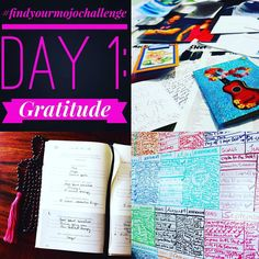 #findyourmojochallenge Day 1: Gratitude  What are you grateful for now? Share your gratitudes today or how you're expressing them!  Pictured are my top 3 #gratitude practices: my @fiveminutejournal and our family whiteboard  cork board. Today the first day of the new year we're wiping those boards clean reviewing all the awesome things that happened last year and guessing at the possibilities for the year to come.  Check out more in Day 1 of the Find Your MOJO Challenge course for FREE on…
