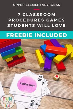 Back to school time means classroom procedure time! Are you stuck with engaging or fun ways to teach your students classroom procedures? Here is your answer! This post gives you great ideas, tips & games to teach your students classroom procedures that your students will LOVE!