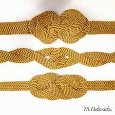 #cinturones #dorados #cordondeseda