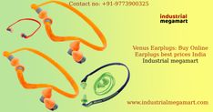 As we know that hearing protection product is very important to protect to ears from any loud or  earsplitting noise to some level. Online industrial megamart is the best online ecommerce shopping company that you can be assured earplugs equipment the high quality and durability of your hearing accessories. Depending on earplug size, colors and quality of product, Online Venus-h401 earplugs equipment in different sizes and colors you can buy online with industrial megamart.