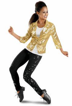 Gold Sequin Blazer -Weissman Costumes