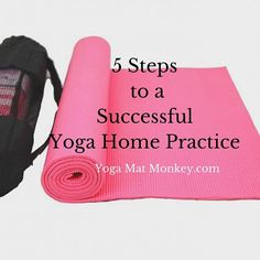 5 of the simplest ways to make a yoga home practice that sticks! For beginners and pros alike. :) #yoga #fitness
