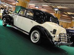 PACKARD Eight Coupe Chauffeur Franay