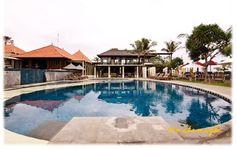 my lovely spot for sun bathing, nikshoma hotel, legian, bali, indonesia