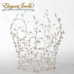 Rhinestone Vine Crown