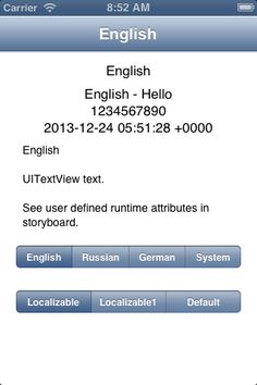 DPLocalization for iOS - Provide easy way to change localization inside application.