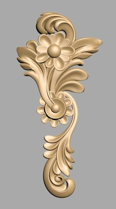 The Most Amazing Woodworking Plans, Ideas, Projects, Tips, Jigs and Crafts Wood Carving Designs, Wood Carving Patterns, Wood Carving Art, Wood Art, Cnc Wood, Woodworking Wood, Plaster Art, 3d Cnc, Ornaments Design