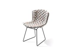 Created by French designer Clément Brazille, Bertoia Loom Chair is a reinterpretation of some of the iconic works of Italian-born American designer Harry Bertoia.