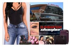"""""""Arriving to the Arena"""" by xxxladiidxxx ❤ liked on Polyvore featuring Sephora Collection, WWE, MICHAEL Michael Kors and Fendi"""
