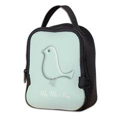 Chic Mint Fashion Neoprene Lunch Bag