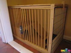 SX25710 DIY Rabbit Hutch