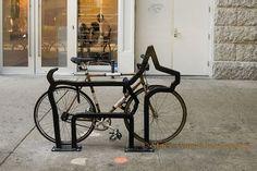 Os racks para bicicletas de David Byrne