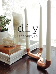 Easy Crafts For Kids, Easy Diy Crafts, Diy Arts And Crafts, Candle Craft, Handmade Candles, Steampunk Diy, Diy Home Decor, Diy Decoration, Creations