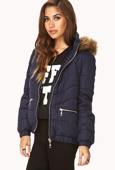 Must-Have Down Jacket   FOREVER21 - 2000076270 $34.80...