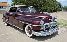 DeSoto Custom Convertible Coupe 1947