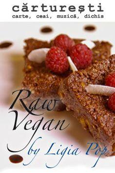 """Raw vegan by Ligia Pop.   Ce poţi face cu o mână de legume crude, un pumn de seminţe, un vraf de pulberi, ceva muguri şi nişte uleiuri esenţiale? Ligia Pop, cea mai aprigă promotoare a alimentației și stilului de viață raw vegan din România, ne îndrumă în găsirea celor mai gustoase și mai naturale răspunsuri, care iau forme dintre cele mai felurite: de la torturi sau prăjituri la """"ciorbe de burtă"""" fără burtă ori hamburgeri.  Împreună cu Ligia Pop am pregătit......"""