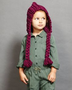 Berry Pixie Hat by theseamdesigns on Etsy