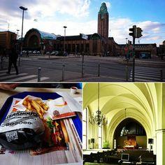 Tämä päivä lyhyesti kuvin. Yöksi kotiin. #Helsinki #kuopioon #koti