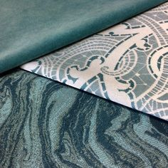 Happy Friday! Take some time to relax this weekend and enjoy these beauties! Check them out, as well as our Silver State and Alaxi Fabric collections, on our website:  https://www.silverstatetextiles.com/  See you there!  Textiles featured (top to bottom): Caress Arctic Drake Teal Moab Seaport