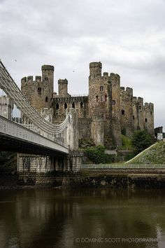Conwy Castle, North Wales | Flickr - Photo Sharing! By Dominic Scott Photography