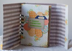 Beautiful scrapbook mini album