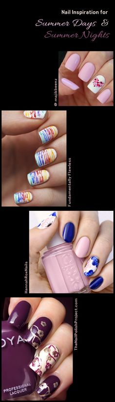 Love these nail designs from some favorite designers.